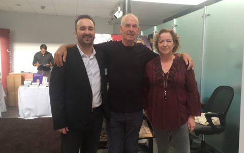 Sandro Graca, Peter Deadman, Siobhan Seville